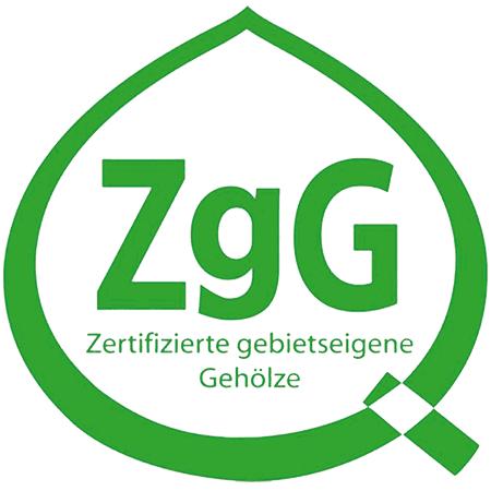 Baumschulen Scheel ist zertifiziert über die Zertifizierungsgemeinschaft gebietseigener Gehölze (Zertifikat DE 18/91829417.23)